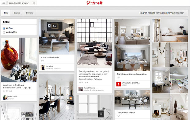 Pinterest「scandinavian interior」