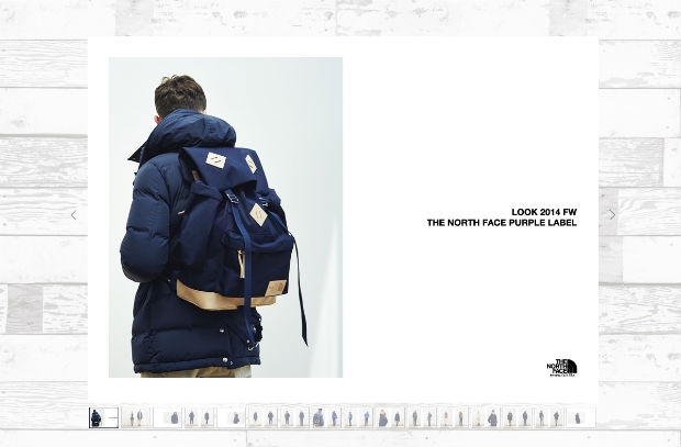 THE NORTH FACE PURPLE LABELのバッグ